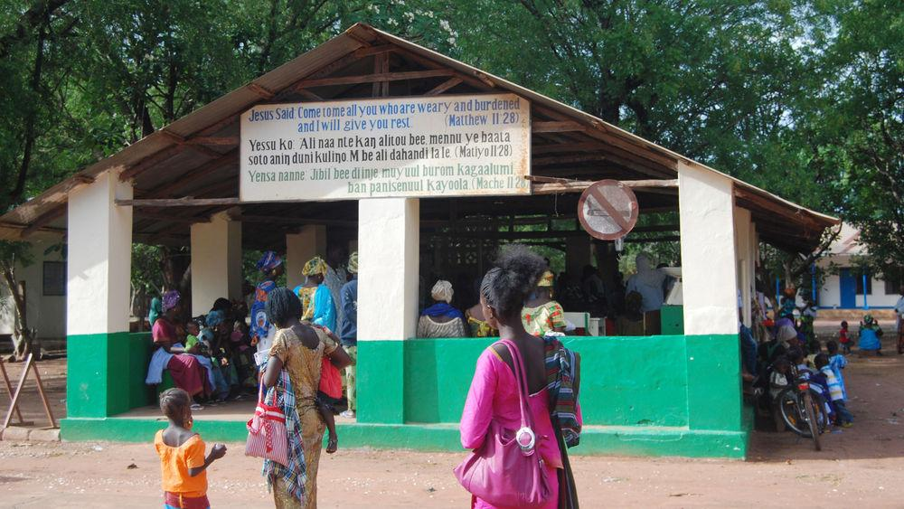 Data Entry Clerk for Health Centre in the Gambia